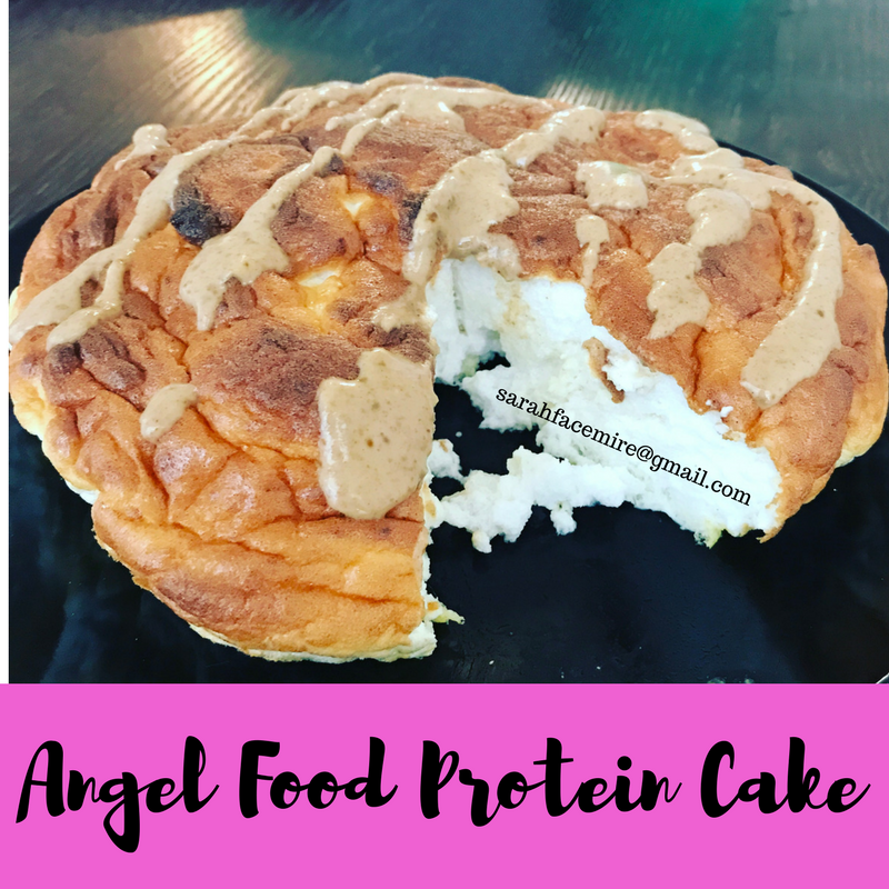 Angel Food Protein Cake1
